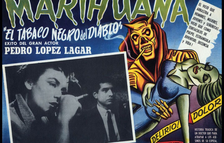 Vintage Posters of Marijuana Demonization
