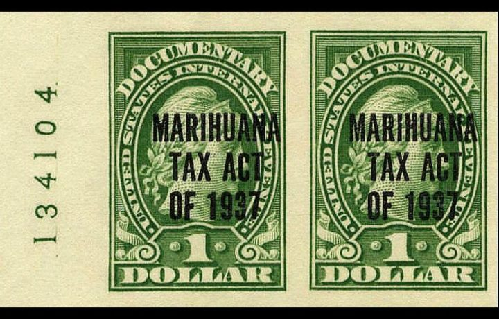 The Dawn of Marihuana Tax Act of 1937